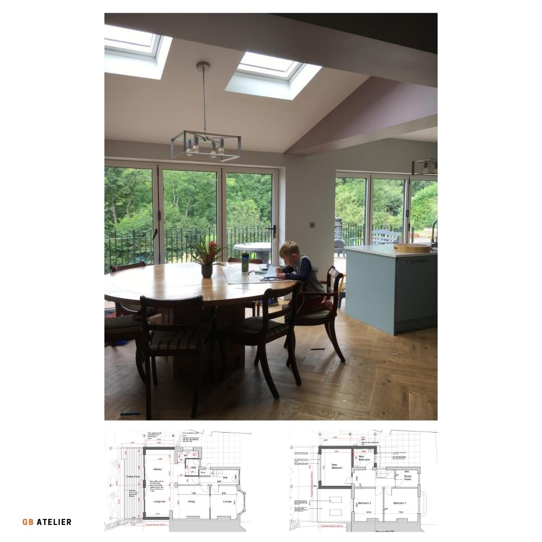 Internal alterations and interior design examples